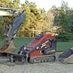 Just some of our low impact and efficient trenchers, excavators, and earth movers.