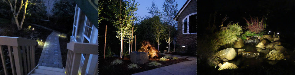Installing outdoor and night lighting in Eugene, Oregon